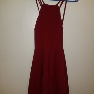 Charlotte russe red large dress